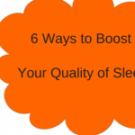 trouble falling asleep - 6 ways to improve your sleep