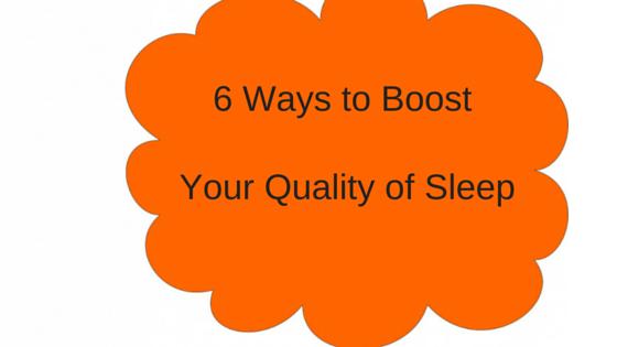 trouble falling asleep - 6 ways to improve your sleep
