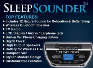 SleepSounder Sleeping Sound Machine