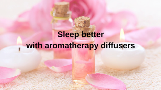 Sleep better with an aromatherapy machine