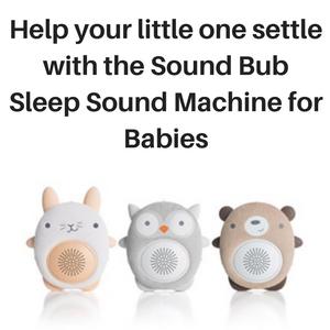 SoundBub sleep sound machine for babies