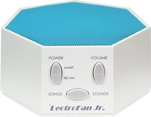 Lectrofan Jr - white noise machine with nursery rhymes
