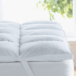 """Home Sweet Home Dreams - 2"""" Hypoallergenic Down Mattress Topper"""
