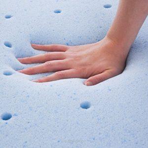 Lucid 3 inch memory foam mattress topper - gel