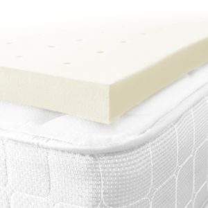 Restoration ventilated 2-inch memory foam mattress toppers