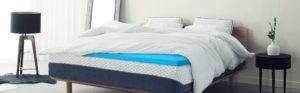ViscoSoft 3-inch gel infused memory foam mattress toppers
