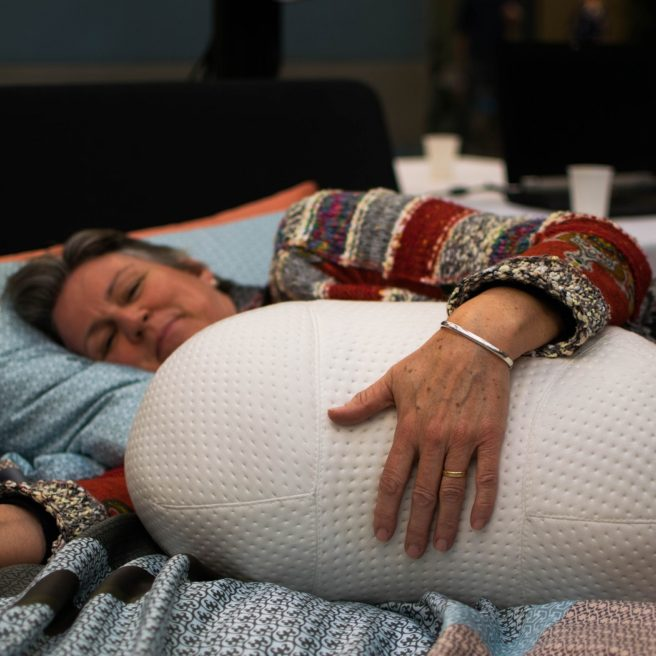 Somnox robotic pillow for sleeplessness