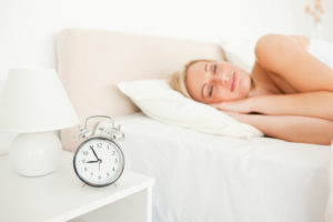 Fixed insomnia symptoms and sleeping soundly