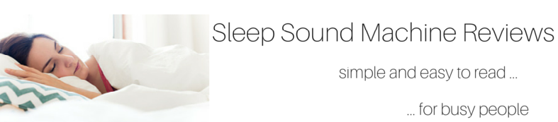 sleep sound machines