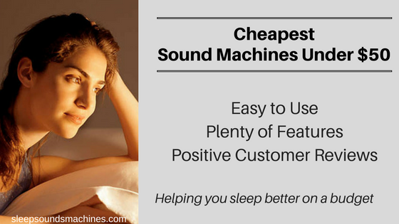 Cheapest sound machines for adults - new