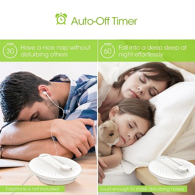 Pictek Sleep Sounds and White Noise Machine