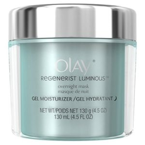 Olay Regenerist Luminous Overnight Facial Gel Mask & Moisturizer
