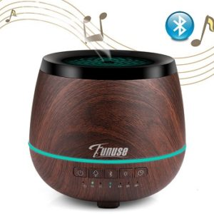 FUNUSE Essential Oil Diffuser and Bluetooth Speakers - aromatherapy sleep sound machines
