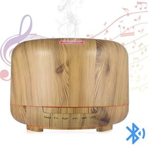 Hrome Essential Oil Diffuser with Bluetooth Speakers - aromatherapy sleep sound machines