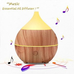 PribBuy Essential Oil Diffuser with Bluetooth Speaker - aromatherapy sleep sound machines