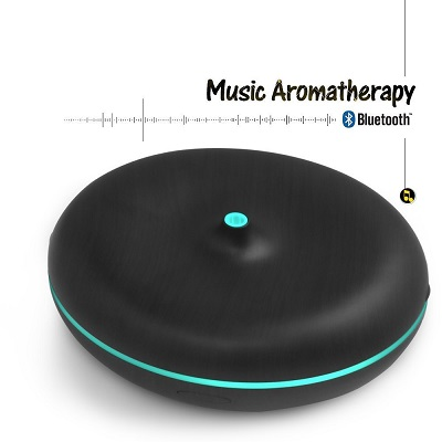 A Aromacare Essential Oil Diffuser And Bluetooth Speaker 2